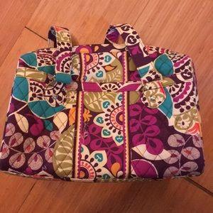 Vera Bradley bowler bag *retired pattern*